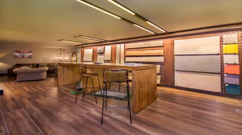 Showroom exclusivo para profesionales: Espacios comerciales de estilo  de Apersonal