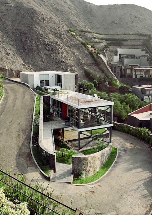 Projekty,  Domy zaprojektowane przez 2.8  NIKOLAS BRICEÑO arquitecto
