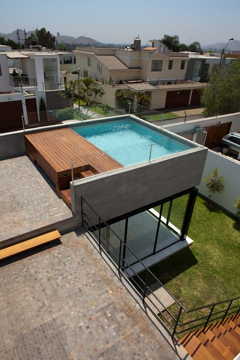 Maisons de style de style Moderne par 2.8 I NIKOLAS BRICEÑO arquitecto