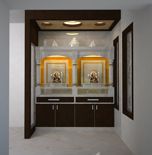 Mr.Ajith Residence:  Terrace by MAPLE TREE