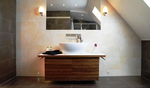 Casa Viva Obras: Casas de banho modernas por Casa Viva Obras