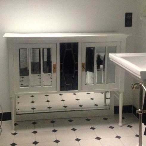 Salle de bain style art déco par POPPIN\' WOOD | homify