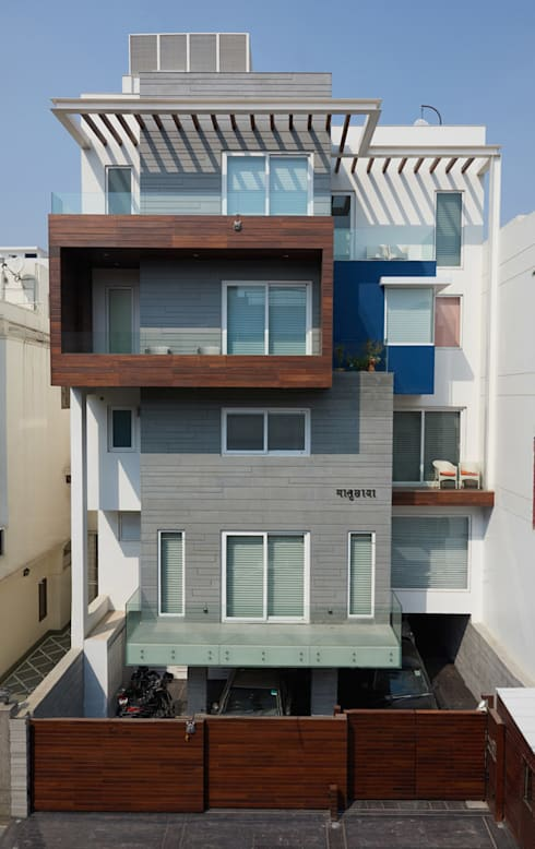 A courtyard house:  Houses by eSpaces Architects