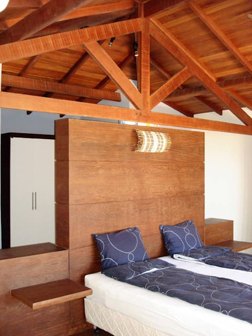 Salas de estilo moderno por bp arquitetura