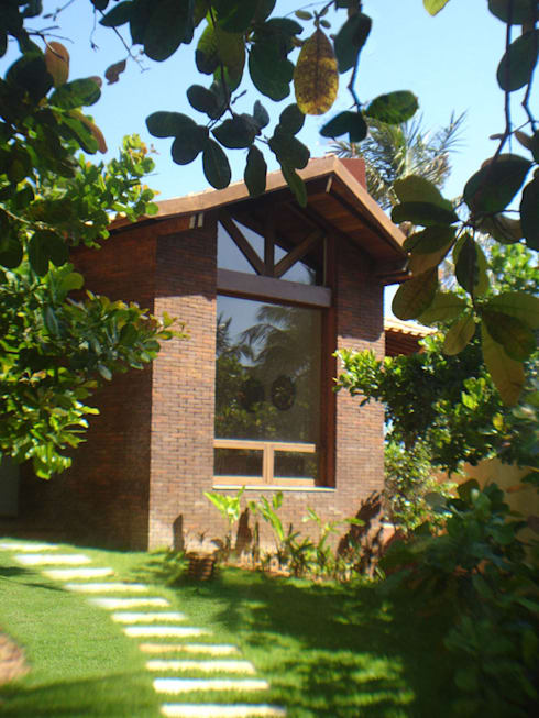 Casas de estilo  por bp arquitetura