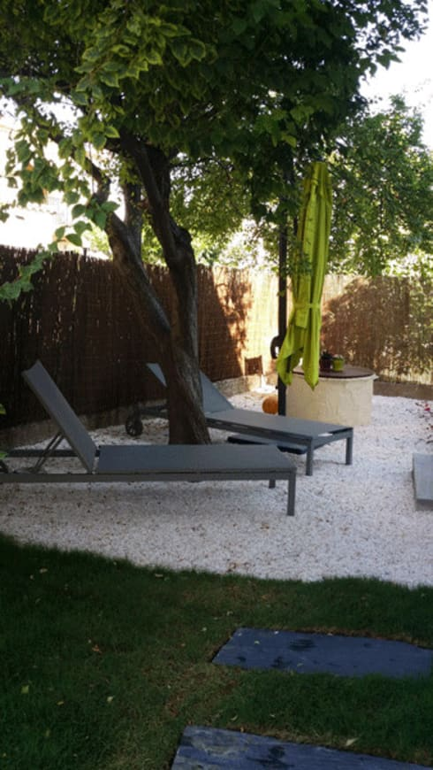 Un jardin zen by le jardin qui bouge homify for Jardin tablet uses