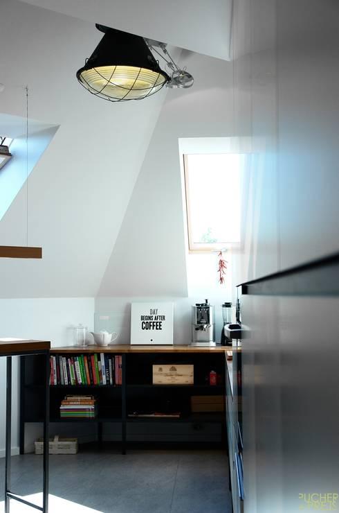 Mieszkanie w Katowicach: styl , w kategorii Kuchnia zaprojektowany przez PUCHER