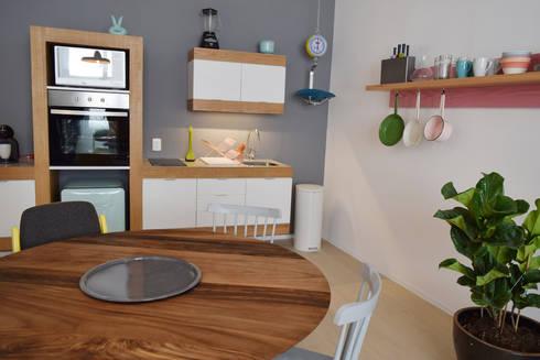 Donceles 17: Cocinas de estilo moderno por Germán Velasco Arquitectos