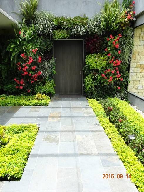 Jardines: Jardines de estilo moderno por Vertin SAS