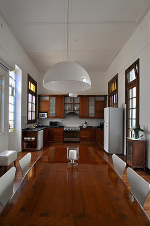 Cocina y comedor:  de estilo  por Matealbino arquitectura
