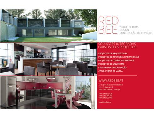 TRABALHOS REALIZADOS: Casas modernas por RedBee