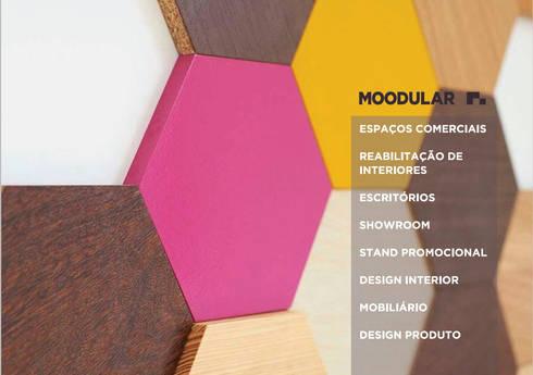 Catálogo Moodular | 3: Espaços comerciais  por MOODULAR
