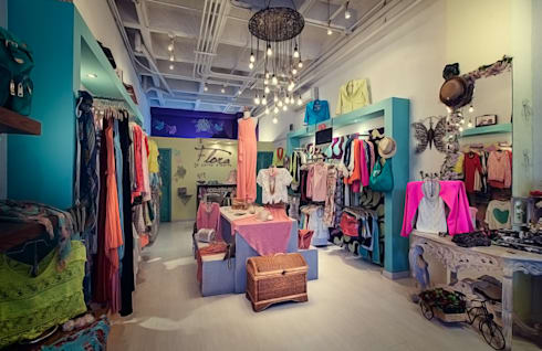 Almacen: Espacios comerciales de estilo  por Cristina Cortés Diseño y Decoración