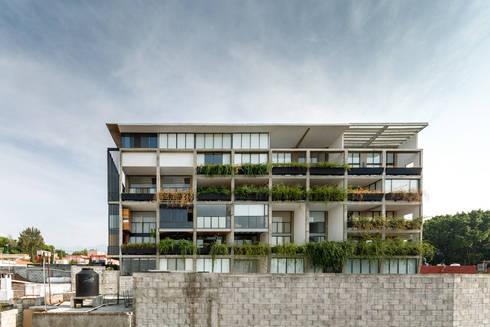 Nt24 - A.flo Arquitectos: Casas de estilo moderno por A.flo Arquitectos