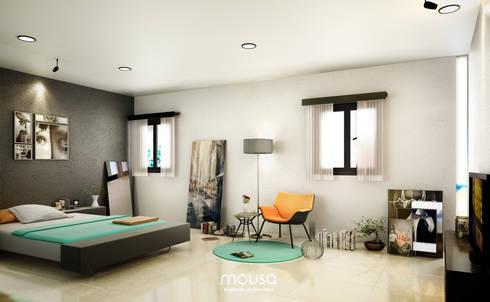 Casa Alor:  de estilo  por mousa / Inspiración Arquitectónica