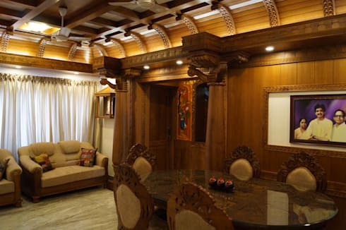 Stunning Contemporary Interior Design Works: modern Living room by Premdas Krishna