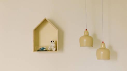 Apartamento Bartolomeu Velho: Quarto de crianças  por Diana Vieira da Silva Arquitectura e Design