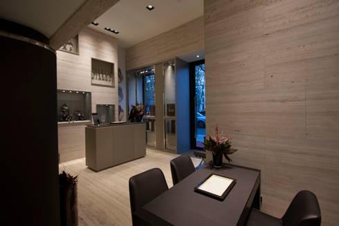 Espaço Gilles: Lojas e espaços comerciais  por Diana Vieira da Silva Arquitectura e Design