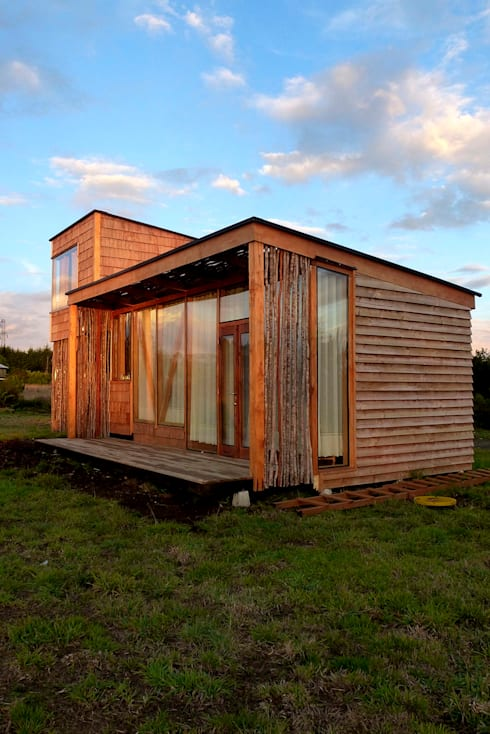 Frente de la Casa: Casas de estilo moderno por PhilippeGameArquitectos