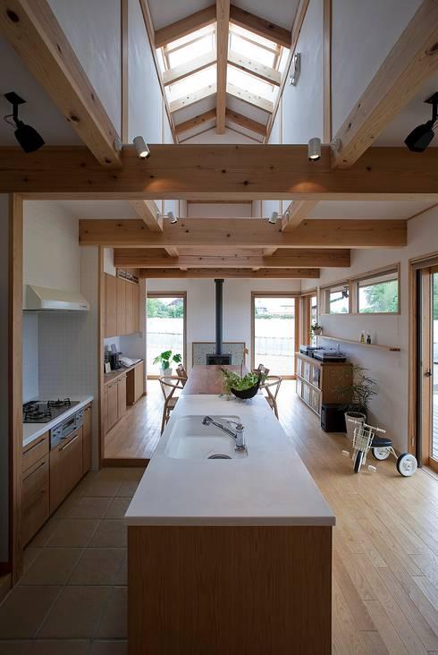 豊城の家: ATELIER Nが手掛けたキッチンです。