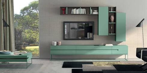 Mobiliário de sala de estar Living room furniture  www.intense-mobiliario.com  Mandi http://intense-mobiliario.com/product.php?id_product=3624: Sala de estar  por Intense mobiliário e interiores;