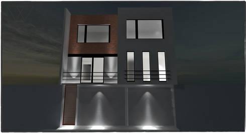 DEPARTAMENTO H.ILUSTRES: Casas de estilo moderno por WIGO SC