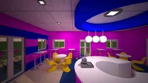 Bahamas island—Sweetz ice cream parlor and snacks bar:   by VINCA interiors