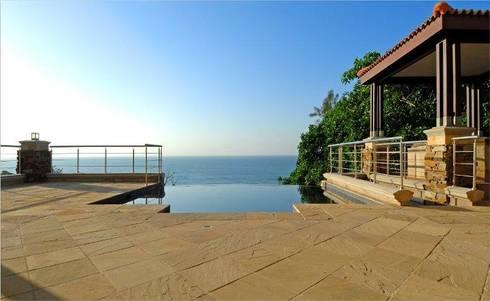 tryrtu:  Balconies, verandas & terraces  by homify India