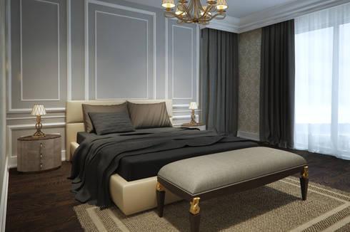 yücel partners – M&E TEKİNTAŞ HOME: klasik tarz tarz Yatak Odası