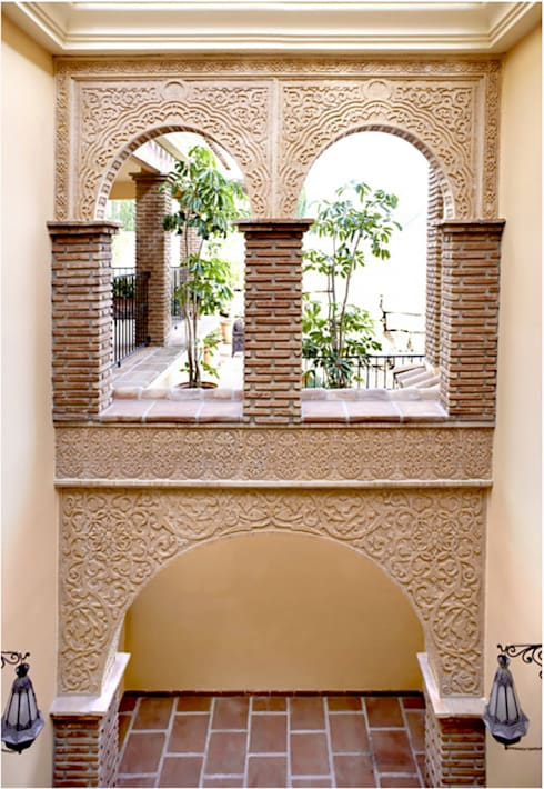 جدران تنفيذ Decoración Andalusí