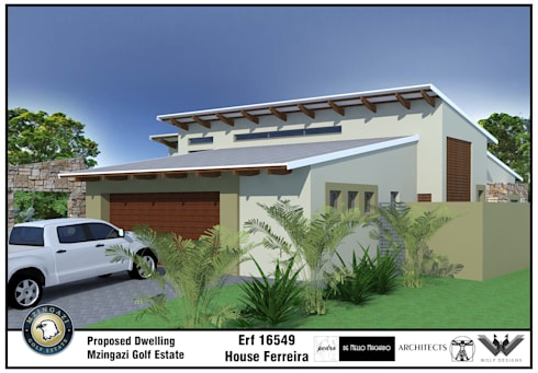 House Ferreira—2014:   by de Mello Machado Architects