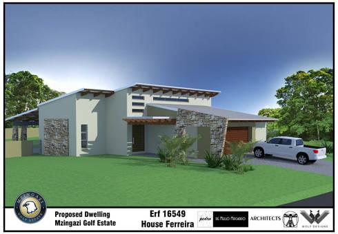 House Ferreira - 2014:   by de Mello Machado Architects