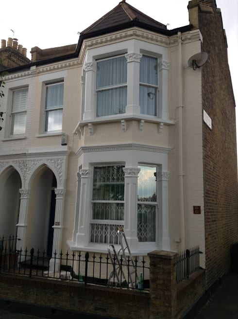 Exterior house painting, Clapham Common:   by The Hamilton Group