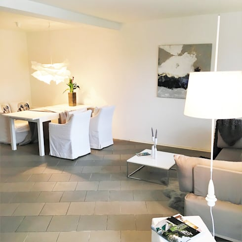 Modern Living Room By Münchner Home Staging Agentur GESCHKA