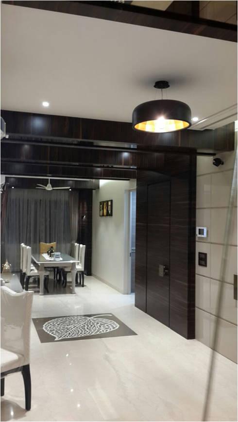 PIROZE PALACE: modern Dining room by HK ARCHITECTS