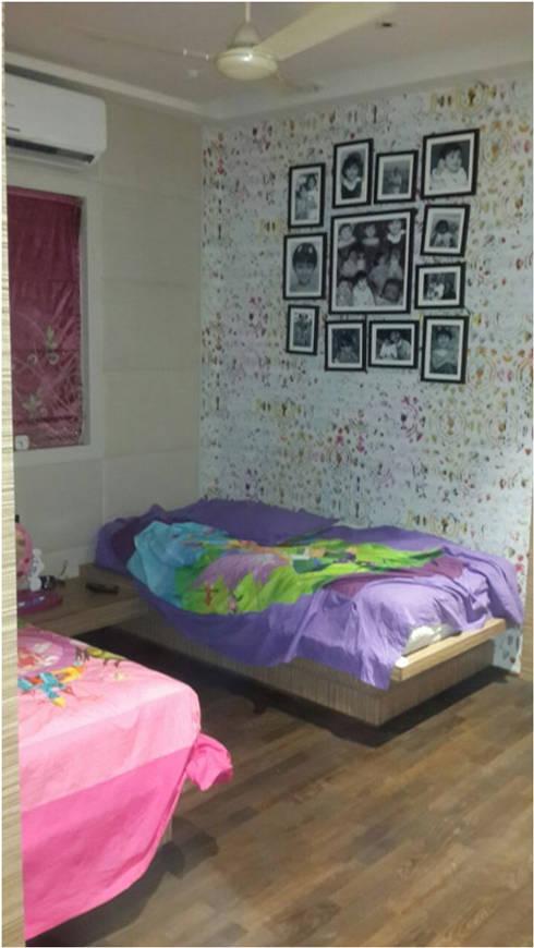 PIROZE PALACE: modern Nursery/kid's room by HK ARCHITECTS