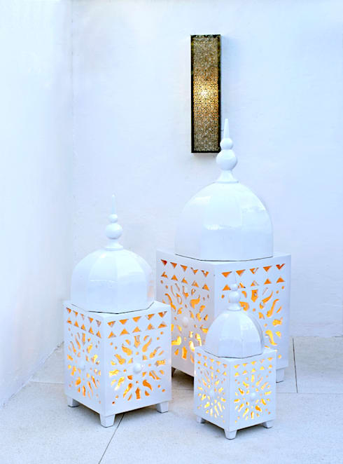 حدائق تنفيذ Decoración Andalusí Iluminación