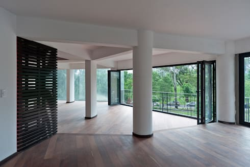 Espacio 1: Comedores de estilo ecléctico por All Arquitectura