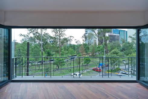 Increíble vista: Terrazas de estilo  por All Arquitectura