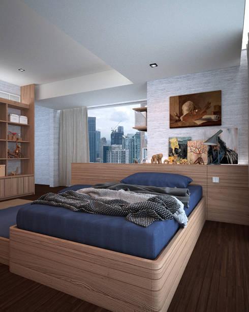 Schlafzimmer von Nelson W Design