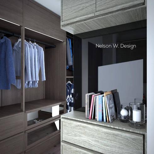 The Long Beach   Hong Kong: modern Bedroom by Nelson W Design