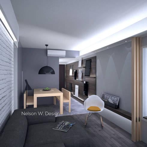 The Long Beach   Hong Kong: modern Dining room by Nelson W Design