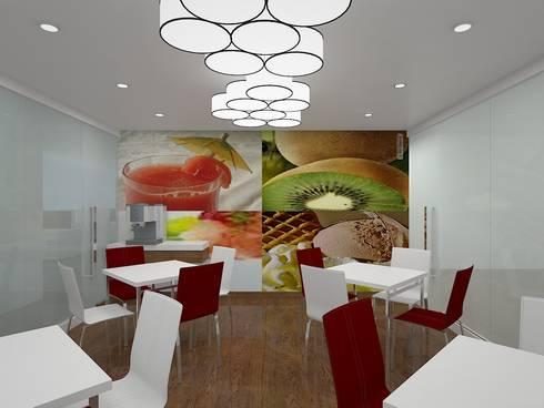 KNIGHT FRANK, BANGALORE. (www.depanache.in):  Walls by De Panache  - Interior Architects