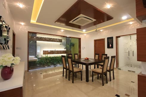 Dining: modern Dining room by Ansari Architects
