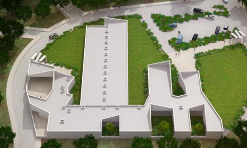 Estrutura Residencial para Pessoas Idosas: Clínicas  por Espaço de Arquiteto