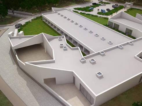 Estrutura Residencial para Pessoas Idosas: Hospitais  por Espaço de Arquiteto