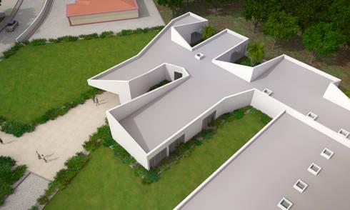 Estrutura Residencial para Pessoas Idosas: Hotéis  por Espaço de Arquiteto