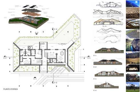 Planos:  de estilo  por ARMarquitectura