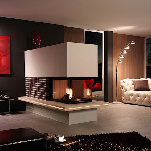 moderne kamine von zerresquadrat gmbh homify. Black Bedroom Furniture Sets. Home Design Ideas