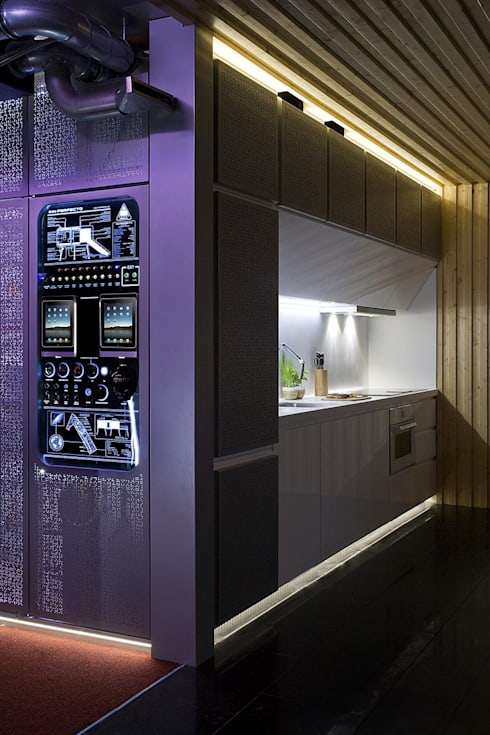 Cocinas de estilo moderno por NOEM